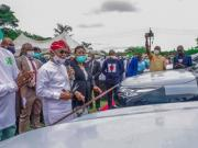 Gboyega Oyetola parents cars to Osun Judges