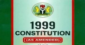 1999 Constitution of Nigeria