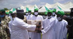 North East Development Commission handing over packages to Boko Haram
