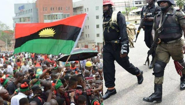 IPOB clash with police