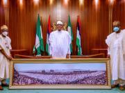 Buhari unveils 60th independence logo