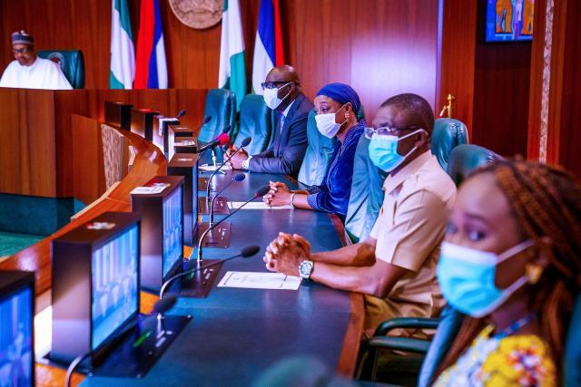 Obaseki visits Buhari