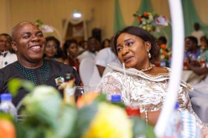 Ebere Nwosu and Wife