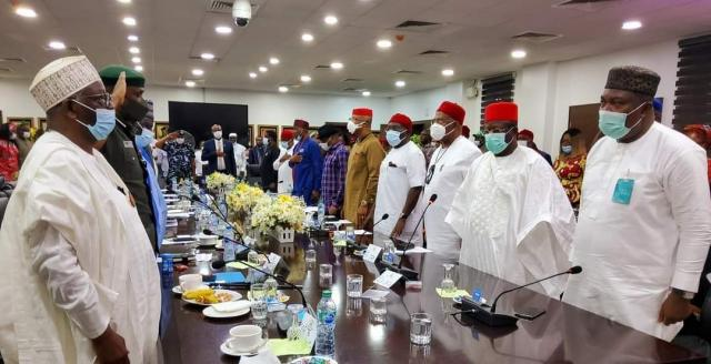 Southeast governors, leaders meet IGP, Gambari