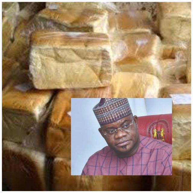Kogi levy on loafs of bread