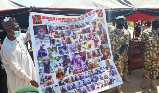 Most wanted terrorists in Nigeria