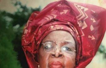 Ernest Ebi mother
