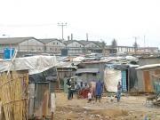 Shanties in Fagba, Lagos