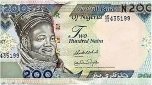 Naira 200 note