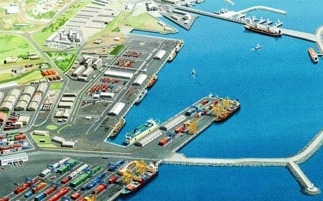 Tema port, Ghana