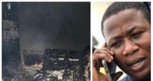 Sunday Adeyemo's house burnt