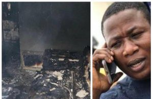 Sunday Adeyemo's house burnt