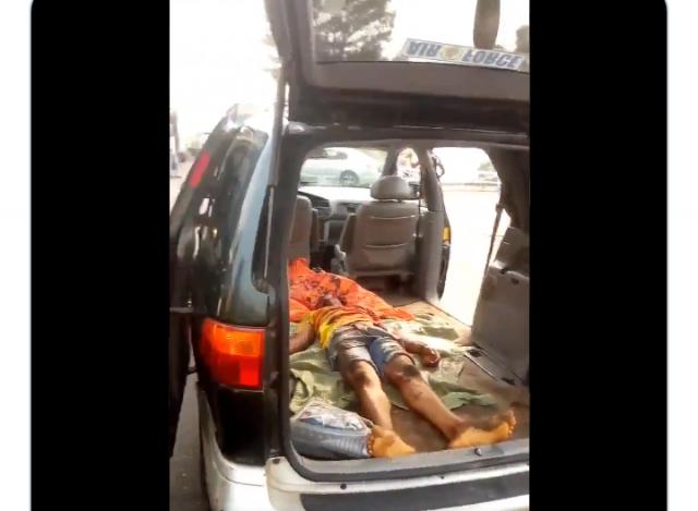 Young man killed at Oshodi, Lagos
