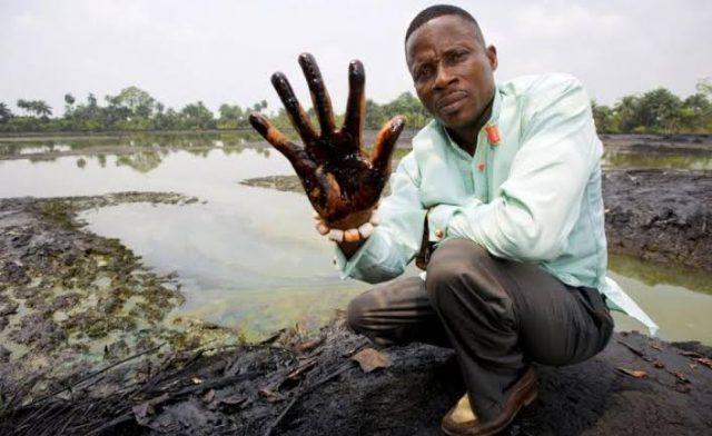Shell oil spill in Niger Delta