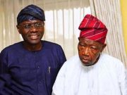 Sanwo-Olu and Lateef Jakande