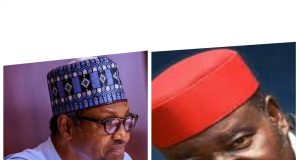 President Muhammadu Buhari, Sir Marc Wabara