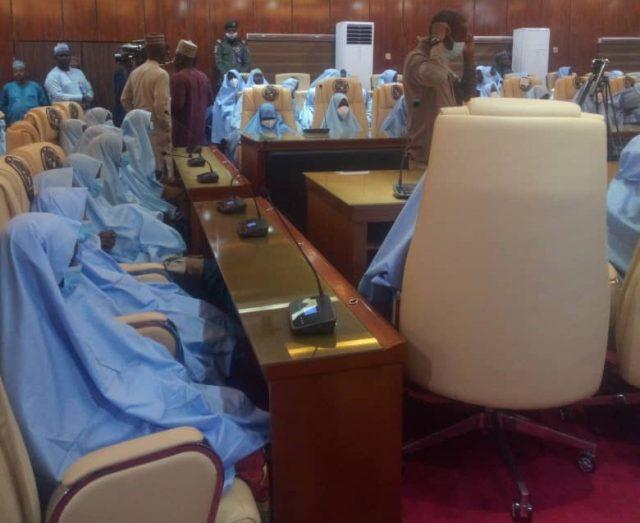 Abducted Zamfara schoolgirls