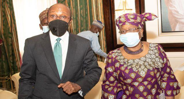 Godwin Emefiele and Okonjo-Iweala