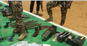 Arms recovered from ISWAP