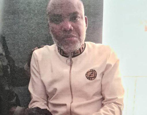 Nnamdi Kanu, IPOB leader under arrest