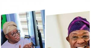 Gboyega Oyetola and Rauf Aregbesola