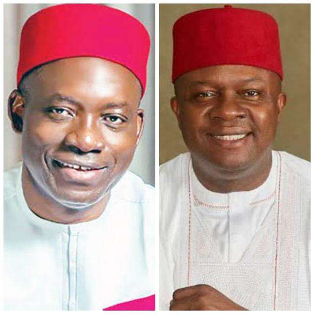 Chukwuma Soludo and Val Chineto Ozigbo