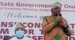 Olalekan Yinusa, Osun State commissioner for Budget