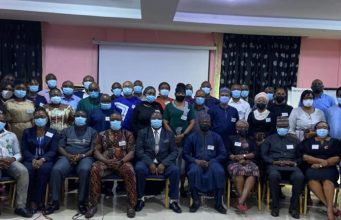 A cross section of the participants during the public health emergency management training in Lagos on Monday