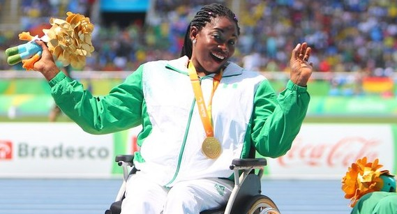 Nigerian athlete, Flora Ugwunwa