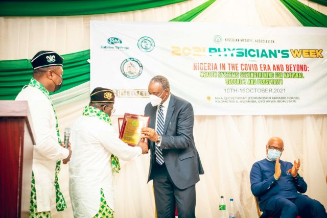 2021 NMA Physician's Week: Udom Inoyo, Others Chart Pathways to Improved Healthcare Delivery
